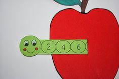 """Eduard Wurm liebt Zahlen!      Meine """"Firsties"""" arbeiten fleissig am Zählen in 2er- und 5er-Schritten. Für manche ein Kinderspiel, für ander..."""
