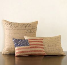 Pillow covers (outdoors or indoors)