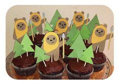 Ewoks in Forest cupc