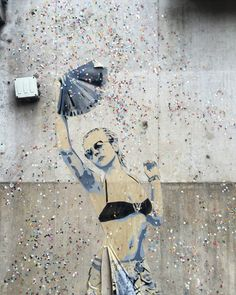 By #sobr #itstimetodance  #streetart #streetartist #urbanart #urbanartist #graffiti #graff #graffitiwall #wall #wallporn #wallpornart #streetarteverywhere #streetphoto #streetartandgraffiti #urbanwalls #graffart #spray #bombing #collage #pochoir #sticker #instagraff #streetartparis #parisgraffiti  Rue la Boetie #paris #75008