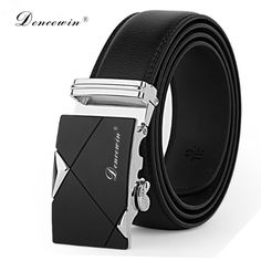 Wearzone Leather Mens Belts Luxury Belts For Men High Quality Brand Automatic Buckle Ceinture Cinto Masculinos Cinturones Hombre Leather Belt Buckle, Metal Buckles, Leather Belts, Belt Buckles, Leather Men, Men's Belts, Buckle Jeans, Leather Totes, Real Leather
