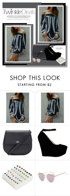 """""""TwinkleDeals"""" by aminkicakloko ❤ liked on Polyvore featuring Kate Spade"""