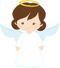 Bird and Angels Clipart.