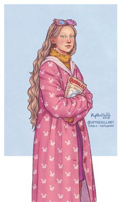 Happy birthday Luna Lovegood! February 13th - Art by UptheHill