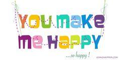 you make me sooooo happy!