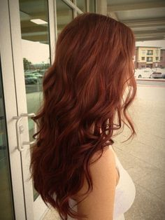 a more natural dimensional red @Dee Mueller Are you looking for auburn hair color hairstyles? See our collection full of auburn hair color hairstyles and get inspired!