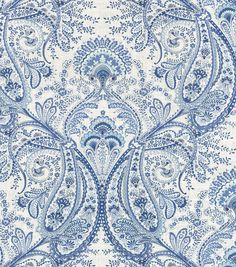 FrostHome Decor Print Fabric- Swavelle Millcreek Melodie Cliffside Frost, $19.99 - ($39.99)