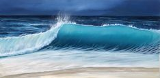 Seascape Paintings, Oil Painting On Canvas, Paintings For Sale, Original Paintings, Devon And Cornwall, Wave Art, Painting Process, Online Painting, Waves