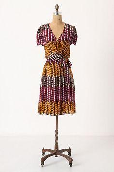 vicia wrap dress #anthro