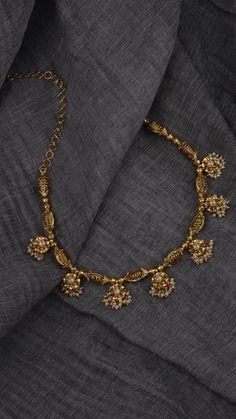 AZVA modern gold jewellery #indiangoldjewellerydesigns