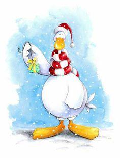 .Santa Duck