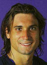 David Ferrer def.  Damir Dzumhur in 4 sets to advance to 2nd round