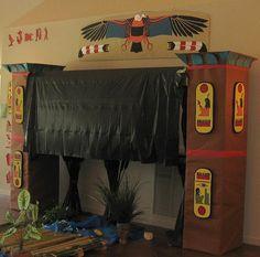 Exploring Biblical Places and Times - Joseph's Journey - Egypt VBS (Vacation Bible School) Decor Set Design