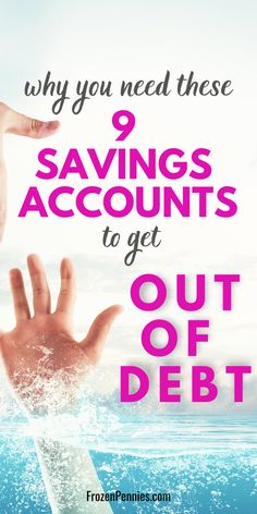 Mini savings accounts will save your budget. Having these sinking funds will give you financial peace and keep you away from credit card debt. Learn h Money Saving Challenge, Money Saving Tips, Saving Ideas, Money Tips, Save Money On Groceries, Ways To Save Money, Budgeting Finances, Budgeting Tips