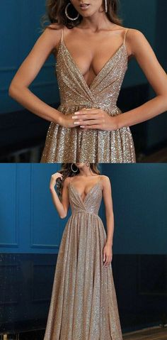 Spaghetti Straps V Neck Fairy Sparkly Sequin Modest Prom Dresses Prom Dresses V-neck V-Neck Prom Dresses Sequin Prom Dresses Modest Prom Dresses Prom Dresses Prom Dresses 2019 Prom Dress Black, Prom Dresses Long Modest, Sequin Prom Dresses, V Neck Prom Dresses, Grad Dresses, Cheap Prom Dresses, Women's Dresses, Evening Dresses, Formal Dresses