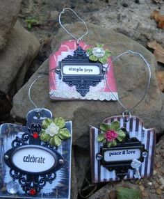 10 Ideas for Patterned Paper, Cardstock, Scraps& recycled pieces
