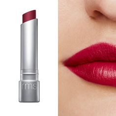 RMS Beauty Wild With Desire Lipstick Jezebel A blackberry red