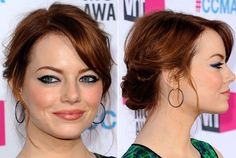 cute hair style and color