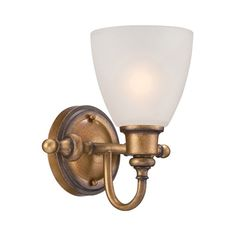 1 Light Wall Sconce - Designer's Fountain - 85601-ABS www.shopazteclighting.com/brand-designers-fountain