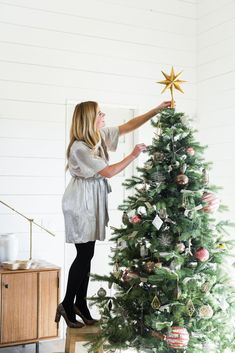 How-to decorate your Christmas Tree with Studio McGee
