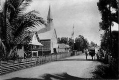 Kerk te Tomohon.  1900 - 1920