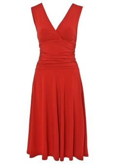 Stella Morgan Ruche Sleeveless Dress - I think this is cute and they have it in black, royal blue and emerald green :)