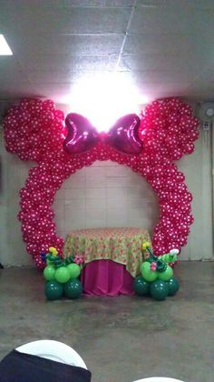 Minnie  Ears Balloon Arch