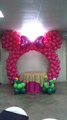 Minnie  Ears Balloon Arch