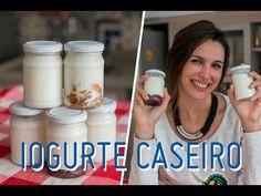 """OVERNIGHT OATS (aveia """"dormida""""): potinhos com cereal, iogurte, frutas para o lanche e café da manhã - YouTube"""