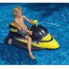 Laser Shark Wet Ski Squirter Pool Float Toy