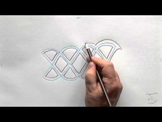 How To Draw A Solomon Celtic Knot by Patrick Gallagher