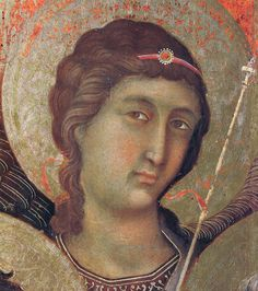Madonna and Child on a throne (Front side fragment) by @artbuoninsegna #protorenaissance