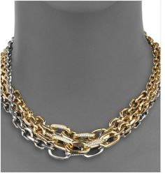 Giles & Brother multi-layer necklace