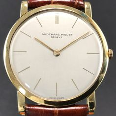 433038003 Catawiki online auction house: Audemars Piguet - Geneve Ultra Slim Men's  Watch - 1970's Swiss