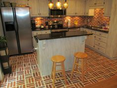 Thin Brick, Table, Spaces, Furniture, Home Decor, Decoration Home, Room Decor, Tables, Home Furnishings