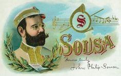 Happy Birthday, John Philip Sousa! by Anne S on Etsy