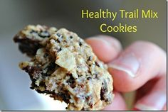 healthy trail mix cookies