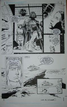 Star Wars A New Hope Special Edition Adaptation #1 pg. 15 by Eduardo Barreto & Al Williamson (Dark Horse 1997) Comic Art