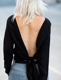 Rien de plus sensuel qu'un dos nu... (top Merritt & Charles - blog Always Judging) - Tendances de Mode