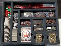 BattleFoam X-wing trays