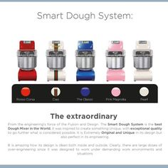 BLUE SMART Smart Dough System represents a new step in the relathionship people have with their equipment. The Smart Dough System makes your job faster, simpler, safer,and more efficient. You will be right to proudly display it in a modern open kitchen. The new SDS is designed to fit effortlessly into your increasingly busy world.