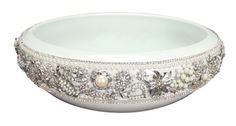 Jeweled sinks create a showstopper for your bathroom.