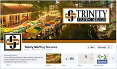 Staffing Industry and Facebook Timelines: Trinity Staffing Services have a great cover image!