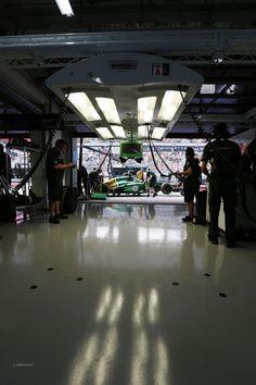 Giedo van der Garde, Caterham Paddock, @ the 2013 Formula 1 AIRTEL Indian Grand Prix Buddh International Circuit,