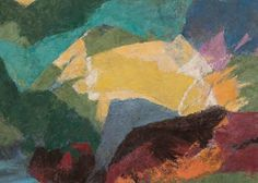 Ethel Magafan [1914-1994] - River at Evening