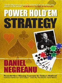 Daniel Negreanu's Power Hold'em Strategy | http://paperloveanddreams.com/book/511589564/daniel-negreanus-power-holdem-strategy | In this new, revised edition, three experts in seven-card stud, who have earned millions of dollars in major tournaments and cash games, eight World Series of Poker bracelets and hundreds of other titles in competition against the best players in the world show readers how to play and win at all three types of stud poker. In addition to cash-game advice, the…