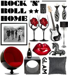 """Rock 'n Roll Home"" by elske88 on Polyvore"