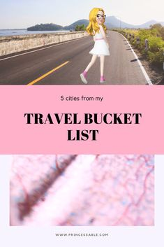 Every person in this world has some dreams and everyone wants their life to look as they imagine. This is my travel bucket list: . Going To California, I Believe In Love, Lots Of Money, What To Read, Most Romantic, My Favorite Music, British Museum, Dream Big, In This World