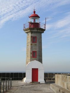 """Farol da Foz - Porto, Portugal. This used to be my """"thinking spot"""". Very special place for me."""