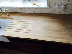 Belfast Sink with solid oak worktop